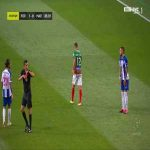 Alex Telles (FC Porto) second yellow card against Maritimo 86'