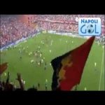 On this day in 2007, Napoli and Genoa in the last game of Serie B were playing against each other for direct promotion. An unexpected draw from Triestina against Piacenza, make both of them promote to serie A and fans of both teams invaded the pitch to celebrate together