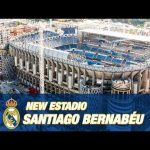 Santiago Bernabéu stadium renovation has started.