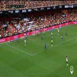 Valencia 1-0 Levante: Rodrigo Moreno goal