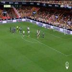 Valencia 1-1 Levante: Melero penalty goal