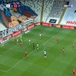 Besiktas 0-1 Antalyaspor - Sinan Gumus 15'