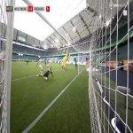 Wolfsburg 2-0 Freiburg - Wout Weghorst penalty 27'