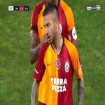 Adem Buyuk (Galatasaray) second yellow card against Rizespor 89'