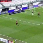 Romagnoli tackle on Ronaldo in Coppa Italia matchup