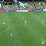 Real Betis 0-1 Granada: Carlos Fernandez goal 27'