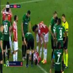 Zeki Yavru (Denizlispor) straight red card against Sivasspor 44'