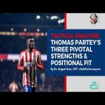 [OC] Thomas Partey's 3 pivotal strengths & positional fit | Skills & tactical analysis