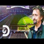How Tottenham Stadium moves it's pitch to convert to NFL stadium