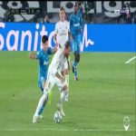 Lee Kang-in (Valencia) red card foul vs. Real Madrid