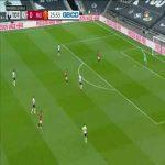 Tottenham Hotspur 1-0 Manchester United: S. Bergwijn goal 27'