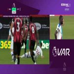 Gary Cahill challenge against Bournemouth 48' - No red card after VAR review