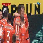 Miedź Legnica 0-1 Bruk-Bet Termalica Nieciecza - Vladislavs Gutkovskis 11' (Polish I liga)