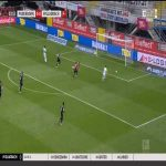 Paderborn 0-1 Borussia Mönchengladbach - Patrick Herrmann 4'
