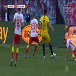 RB Leipzig 0-1 Borussia Dortmund - Erling Haaland 30'
