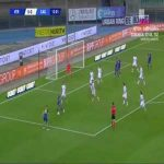 Verona 1-0 Cagliari - Samuel Di Carmine 14'