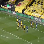 Watford [1]-1 Leicester - Craig Dawson 90+3' bicycle kick