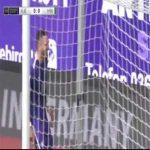 Aue 1-0 Hannover - Pascal Testroet 23'