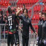 GKS Tychy 1-0 Podbeskidzie Bielsko-Biała - Szymon Lewicki 17' (Polish I liga)