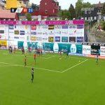 Kristiansund [1]-1 Aalesund - Amahl Pellegrino 24'