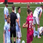 Martin Aguirregabiria (Alaves) straight red card against Celta Vigo 27'