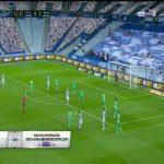 Real Sociedad [1]-2 Real Madrid: Mikel Merino goal 83'