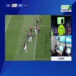 Bologna 0-1 Juventus - Cristiano Ronaldo penalty 23'
