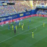 Villarreal [2]-1 Sevilla: Pau Torres goal 45+4'