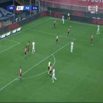 Genoa 0-2 Parma - Andreas Cornelius 33'