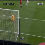 Courtois save vs Mallorca