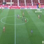 Girona 2-0 Numancia - Christian Stuani 45'+1'