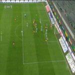 Rapid Wien 1-[1] Red Bull Salzburg - Noah Okafor 22'