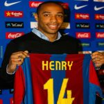 On this day in 2007, Thierry Henry was presented as a Barcelona player.