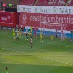 Brentford 1-0 West Brom - Ollie Watkins 16'
