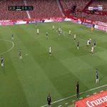 Sevilla 0-1 Real Valladolid - Kiko 25'