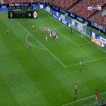 Atlético Madrid 1-0 Alaves - Saul 59'