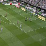 Borussia Mönchengladbach 1-0 Hertha Berlin - Jonas Hofmann 7'