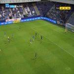 Slovan Liberec 1-0 Baník Ostrava - Jakub Pešek 76'