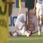 CFR Cluj 0-[1]- Universitatea Craiova - Koljic 9'