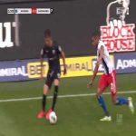 Hamburg 0-1 Sandhausen - Kevin Behrens 13'
