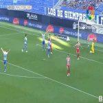 Malaga 2-0 Girona - Armando Sadiku 50'