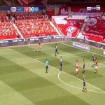 Nottingham Forest 1-0 Huddersfield - Lewis Grabban 43'
