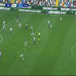 Udinese [1]-1 Atalanta - Kevin Lasagna 31'