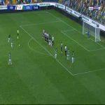 Udinese 1-[2] Atalanta - Luis Muriel free-kick 71'