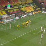 Watford 1-[3] Southampton - James Ward-Prowse free-kick 82'