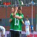 Wigry Suwałki 1-[4] GKS Bełchatów - Artur Golański 88' (Polish I liga)