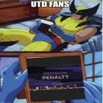Utd fans