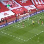 Arsenal [3] - 0 Norwich - Aubameyang 67'