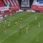 Arsenal [4] - 0 Norwich - Soares 81'