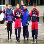 One of my favourite football pictures: Ernesto Valverde, Luis Enrique, Jose Mourinho, and Pep Guardiola at Barcelona.